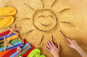 smile sand flip-flops